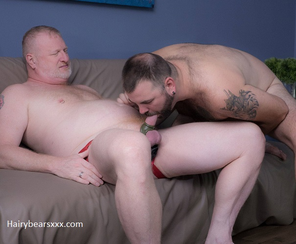 Gay sex - Aiden Storm and Rusty McMann from BearFilms