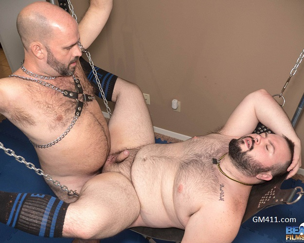 Gay sex - Cameron Nelson and Pup Trash from BearFilms