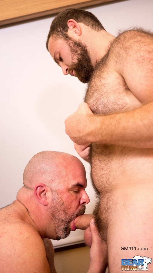 Gay sex - Dante Kirkdale and Sam Steinhaus from BearFilms