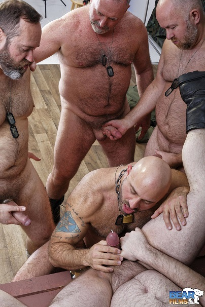 Gay sex - Guy English, Joe Hardness, Sam Wyze, Bearsilien and Bo Francis from BearFilms