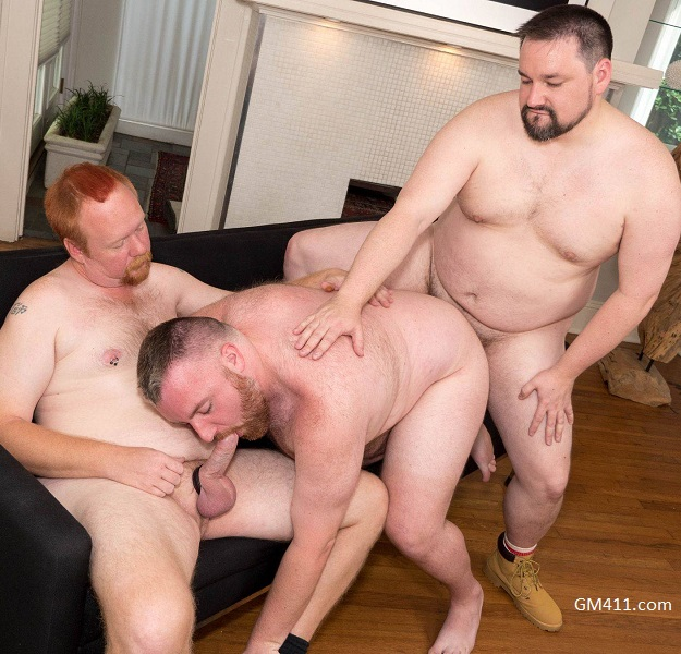 Gay sex - Jack Power, Bama Cub and Tiger from BearFilms