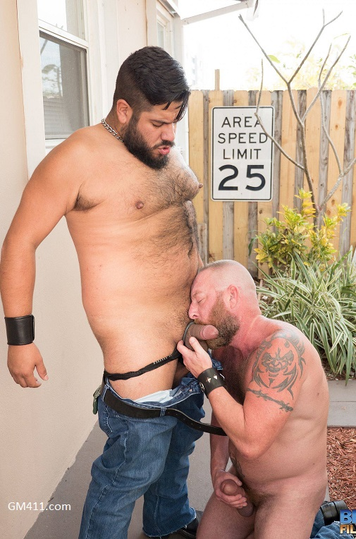 Gay sex - Lanz Adams and Dalton Hawg from BearFilms