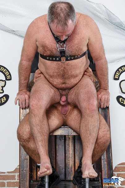 Gay sex - Marc Angelo and Bo Francis Bear Riders from BearFilms