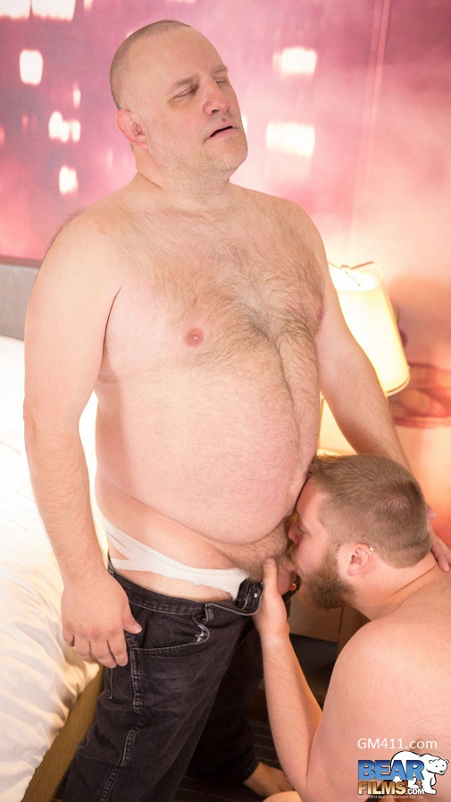 Gay sex - Matty Bear and Michael Baron from BearFilms