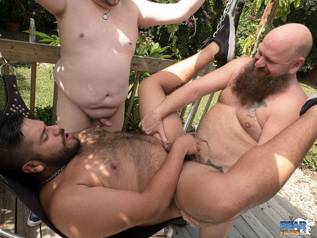 Gay sex - Lanz Adams, WolfCub and Doug E Behr from BearFilms