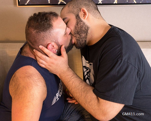 Gay sex - PJ Brown and Klaus M Alvarez from BearFilms