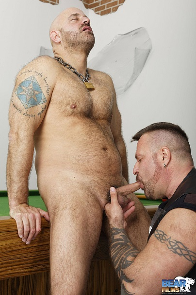 Gay sex - Sam Wyze and Marc Angelo Bear Riders from BearFilms