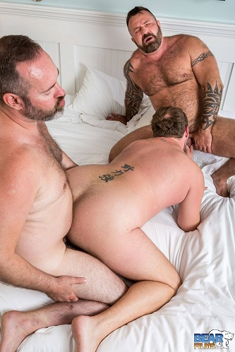 Gay sex - Sebastian Sax, Marc Angelo and Joe Hardness from BearFilms