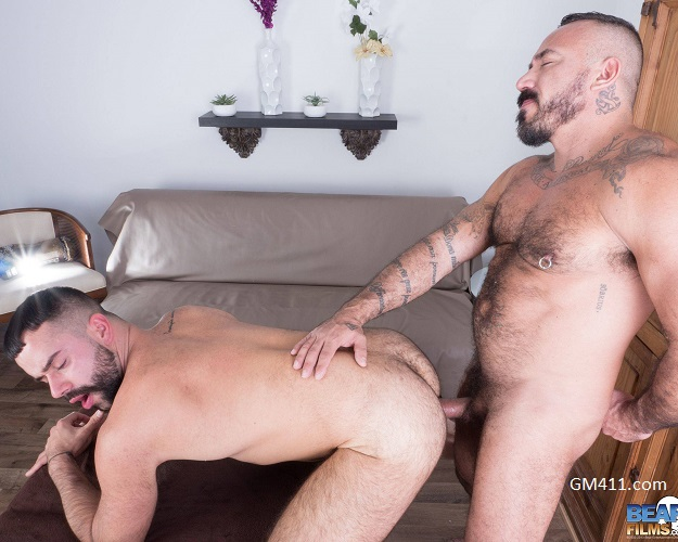 Gay sex - Teddy Torres and Alessio Romero from BearFilms