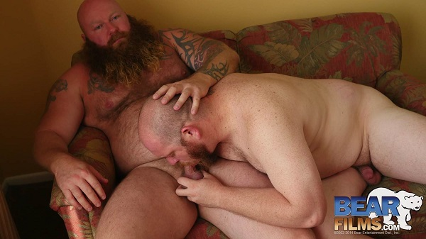 Gay sex - Sex Pigs threeway Sid Morgan, Rusty G, Gunner Scott from BearFilms