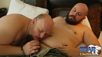Gay sex - WolfCub and Dusty Daniels from BearFilms
