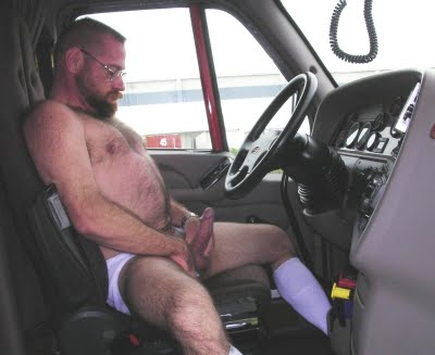 Truckers jacking off