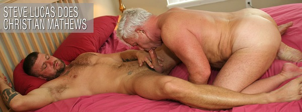 Gay sex - Steve Lucas and Christian Mathews from Older4me
