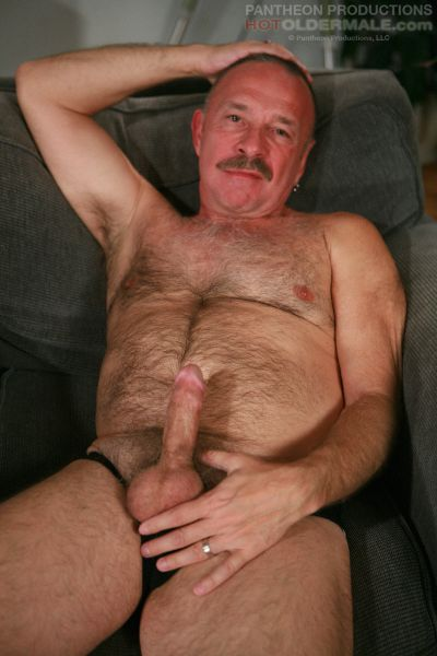 Hairy Older Male 62
