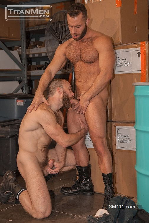Gay sex - Nick Prescott and Eddy CeeTee from TitanMen